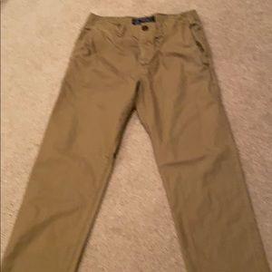 Men's khaki pants, original slim straight fit